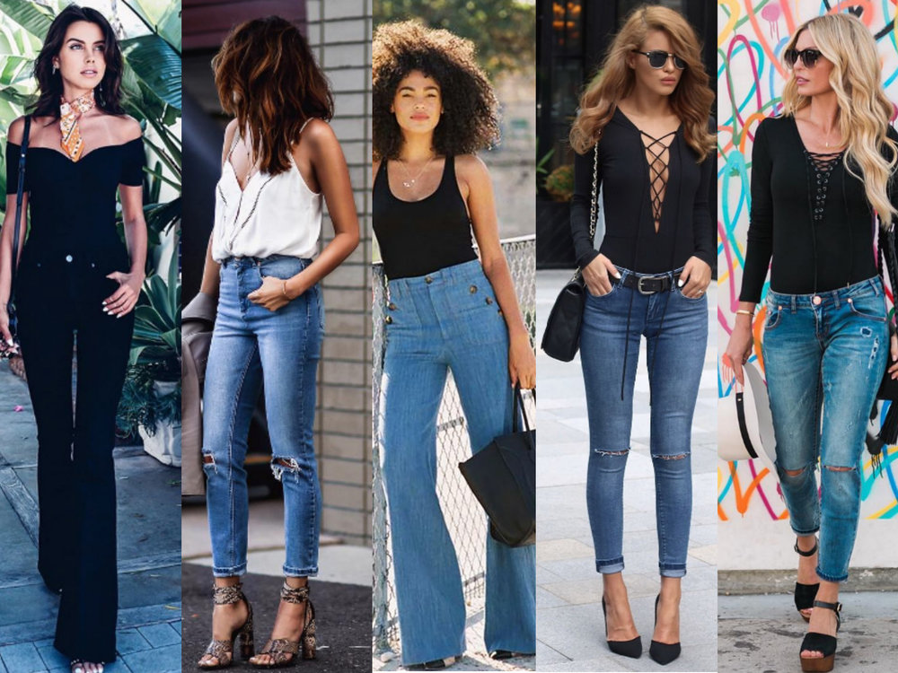 How to Wear Bodysuits with Jeans