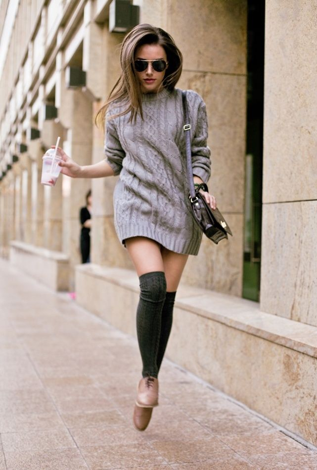 Knee High Socks Outfit