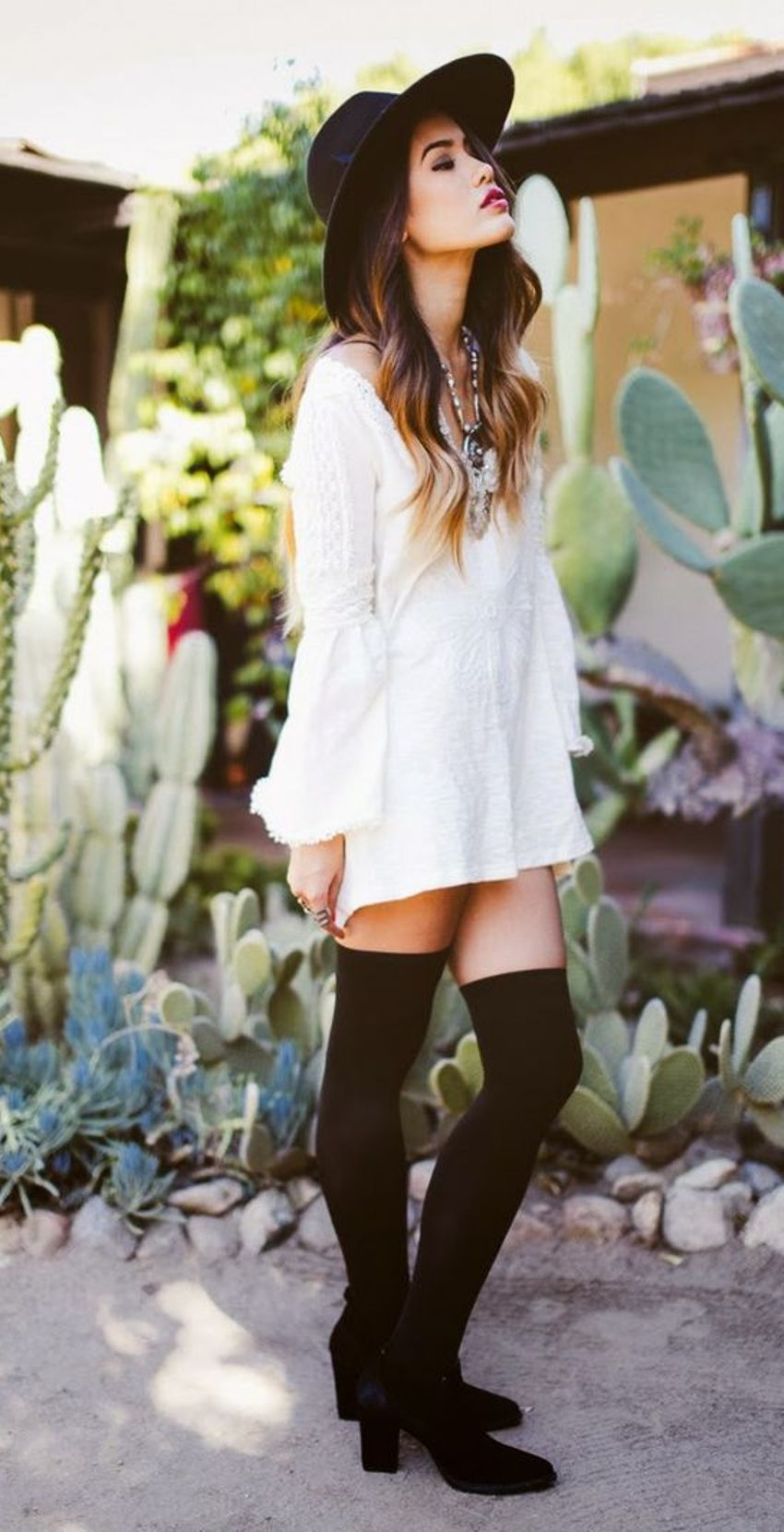 6 Stylish Outfits To Wear With Knee High Socks Style Wile