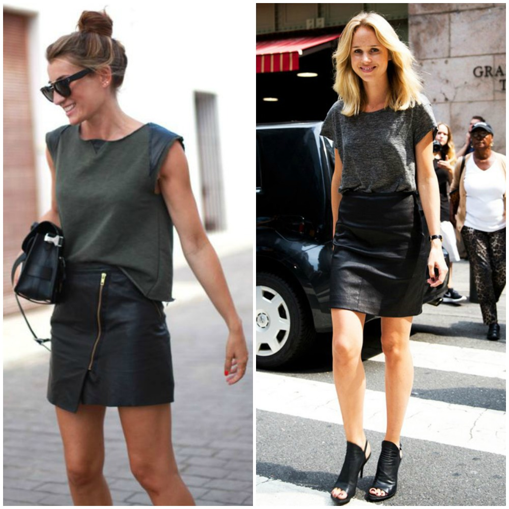 Watch How to Wear a Leather Skirt video