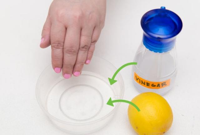 Lemon Juice White Vinegar Nail Polish Remover – Papillon Day Spa