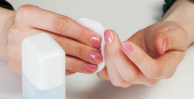 how to open nail polish remover