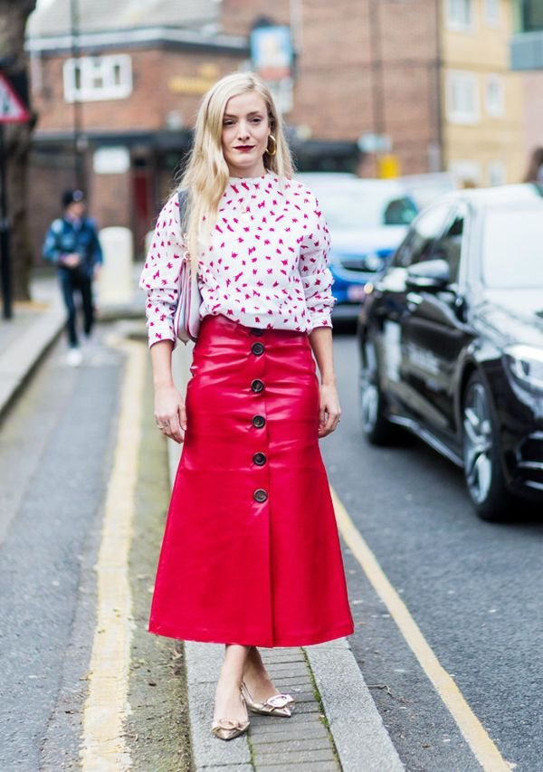 Tops to Wear with Leather Skirts