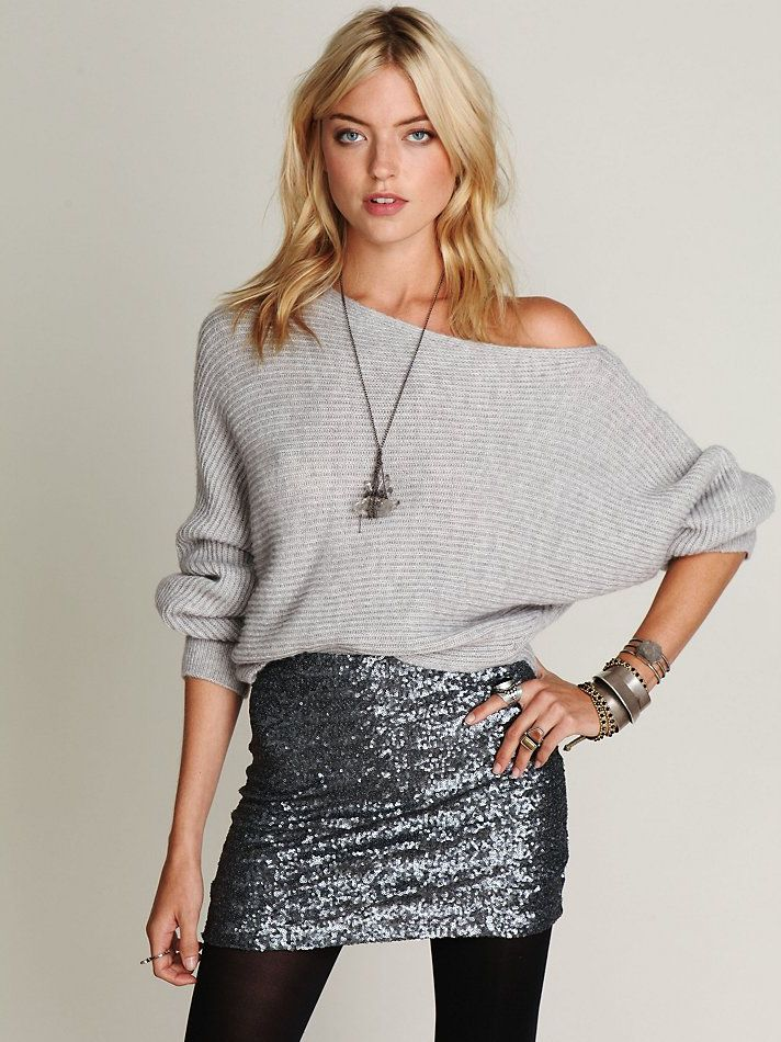 Winter Mini Skirt Outfits