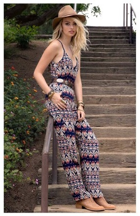 Long Romper Outfit
