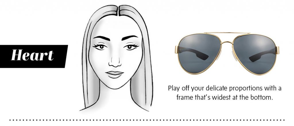 Best Sunglasses for Heart Shaped Face