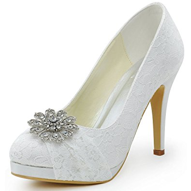 Comfortable Platform Wedding Shoes