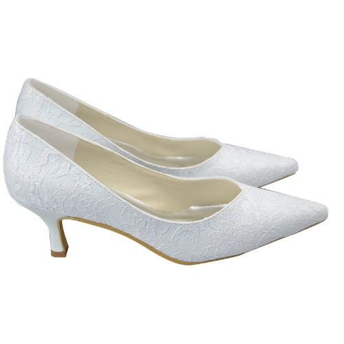 Comfortable Low Heel Wedding Shoes: Comfortable Wedding Shoes For Brides