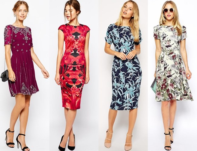 Fall Dresses to Wear to a Wedding as a Guest