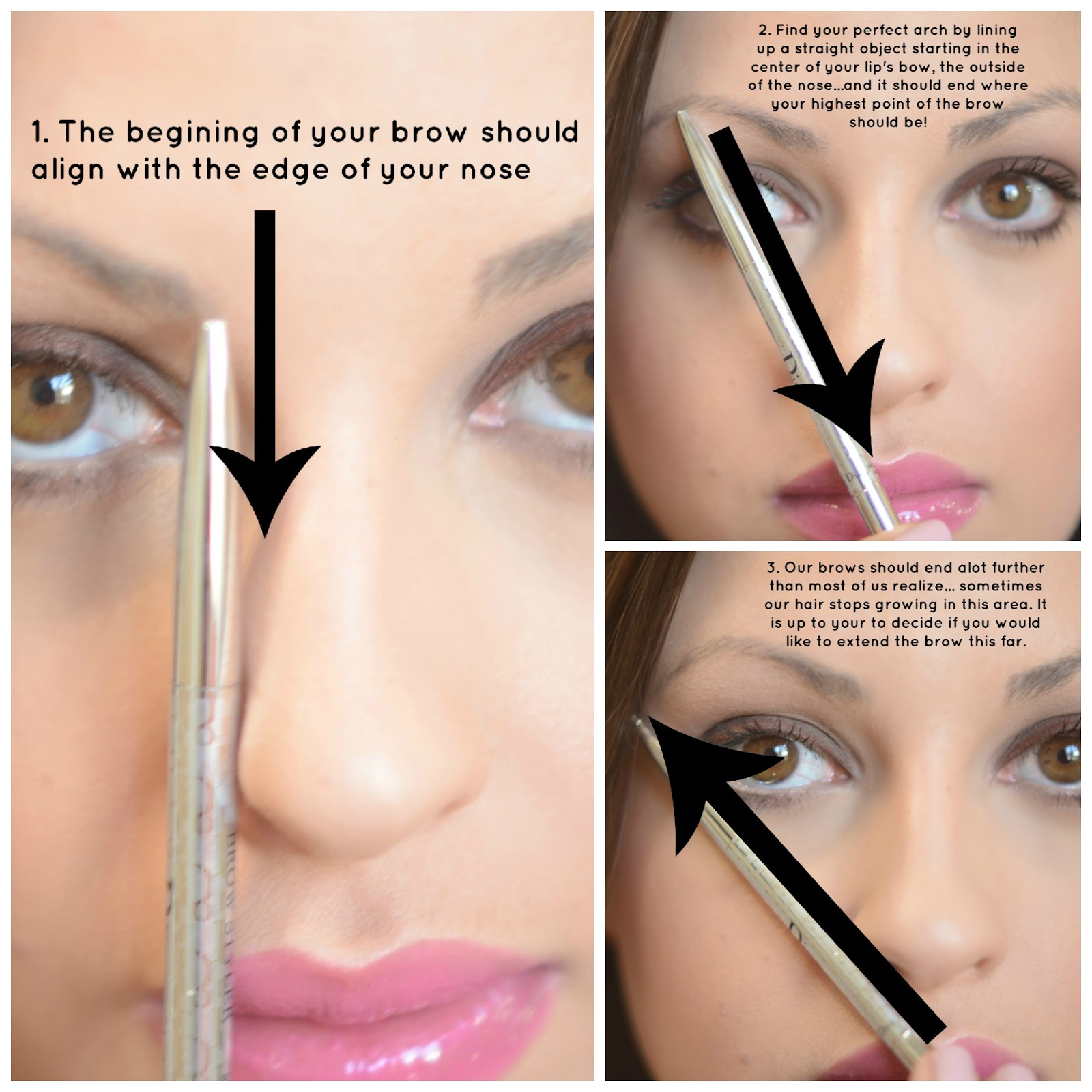 How To Fill In Your Eyebrows And Get A Natural Look Style Wile
