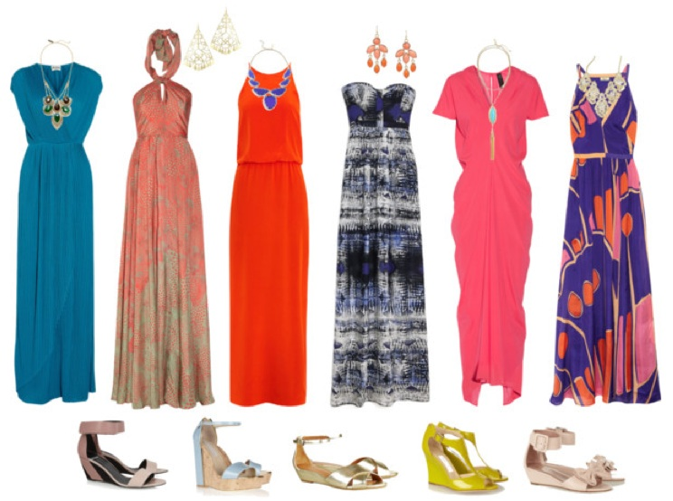 Shoes to Wear with Long Dresses