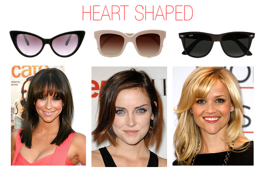 5 Types Of Sunglasses For A Heart Shaped Face Stylewile