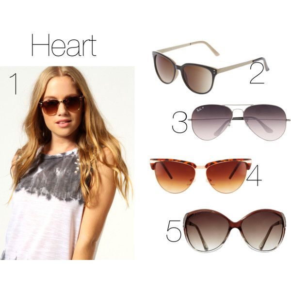 Sunglasses for Heart-shaped Face