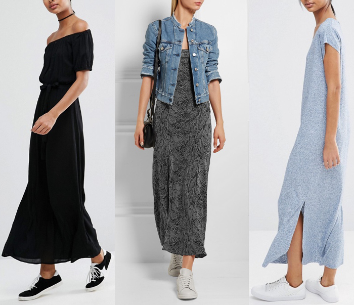 What to Wear with a Maxi Dress