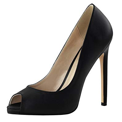 Peep toe Stilettos Types of Women's Heel