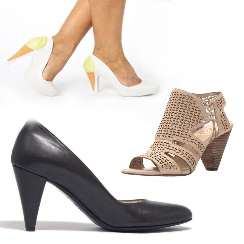 Types of Cone Heels