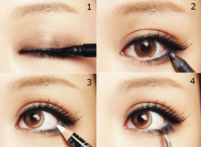 Eyeliner to Make Eyes Look Bigger