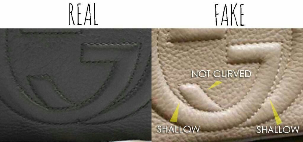 Real Vs Fake Gucci Bag Logo