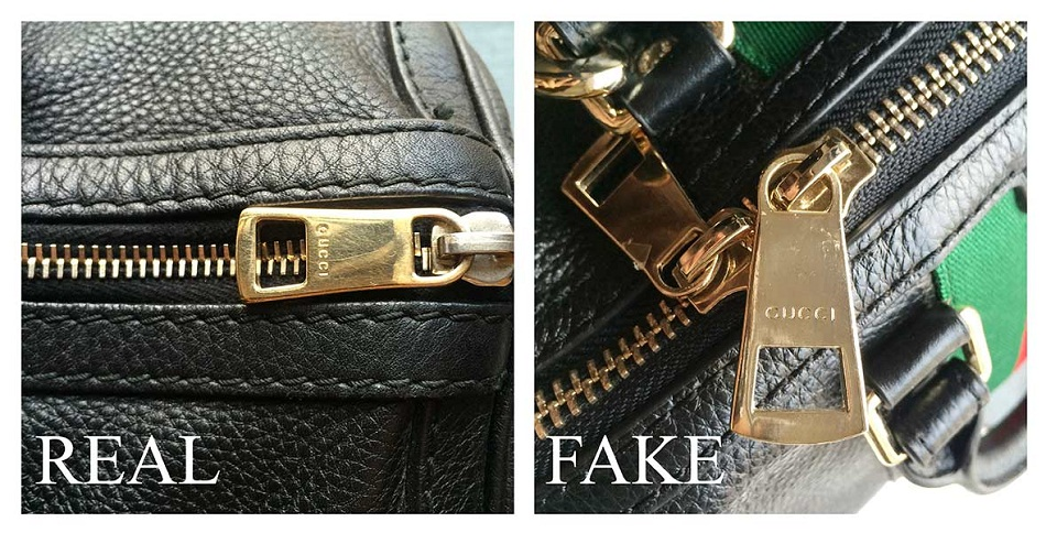 Real and Fake Gucci Bag Hardware