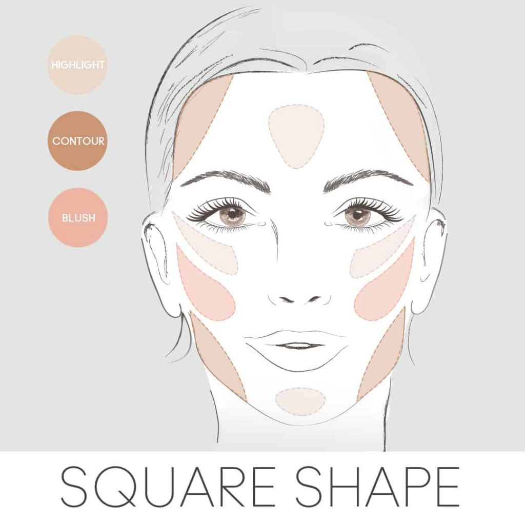 How to Apply Blush to a Square Face Shape