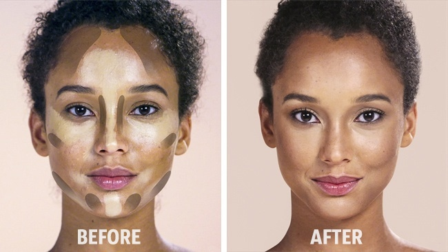 How to Contour and Highlight an Oval Face