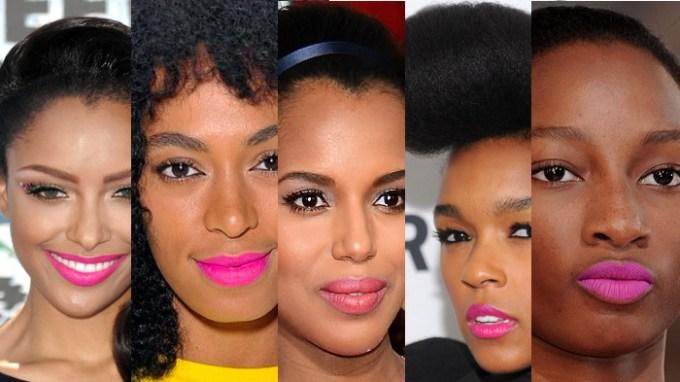 Pink Lipstick for Dark Skin