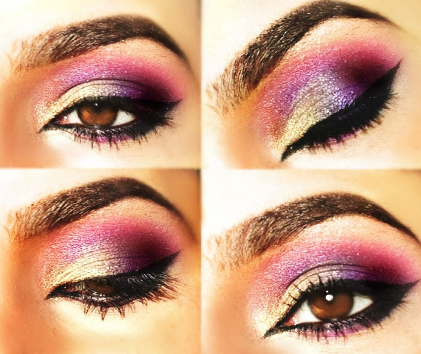 Purple Eyeshadows for Brown Eyes