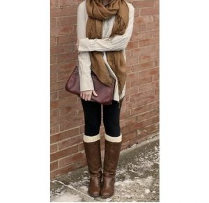 How to Wear Leg Warmer with Flats