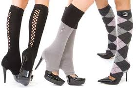 How to Wear Leg Warmers with Heels