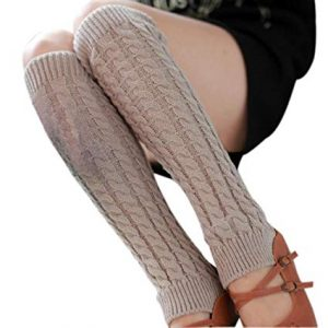 How to Wear Thigh-High Leg Warmers