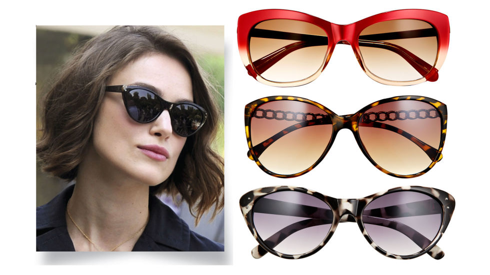 Cat-eye Sunglasses for Square Face